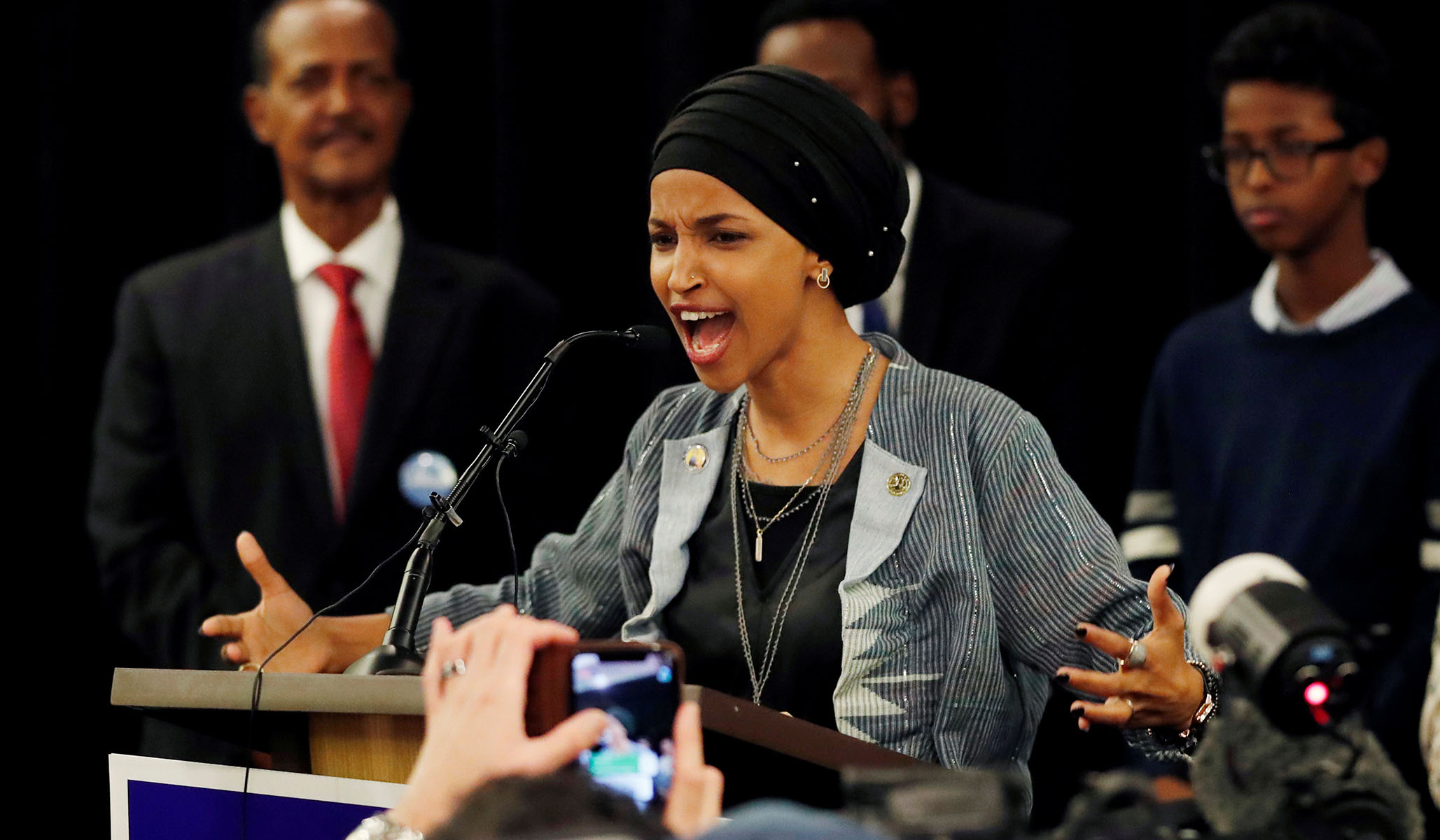 Ilhan Omar Accuses Trump of Emboldening Racists