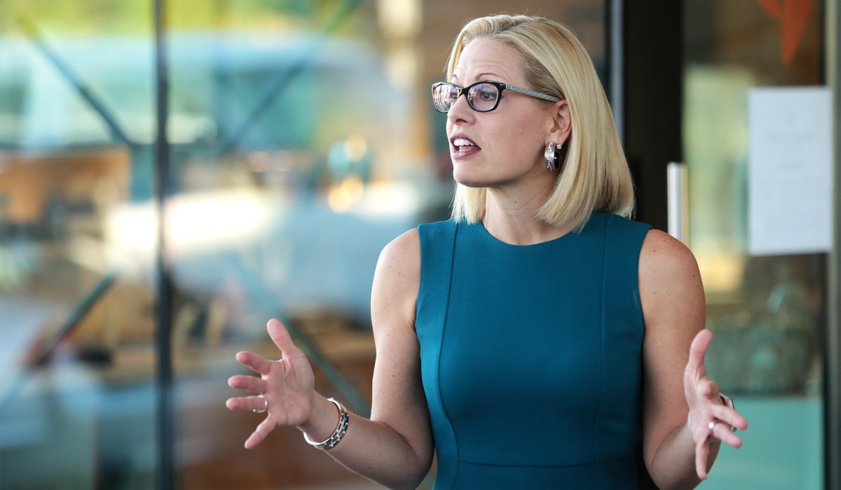 Will You Change Your Mind about the Filibuster, Senator Sinema? Will You? Will You? Will You? Will You? | National Review