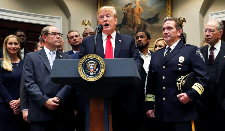 FIRST STEP Act: Trump Embraces Left-Wing Racism Rhetoric