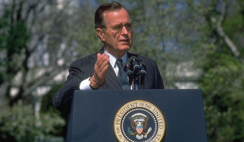 President Bush Confesses Hes War >> George H W Bush Foreign Policy The Vision Thing National Review