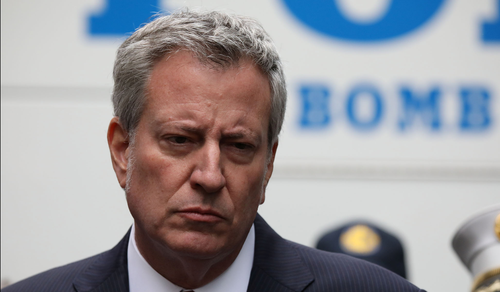 NYPD Union Denounces de Blasio for Abandoning NYC During Failed Presidential Bid