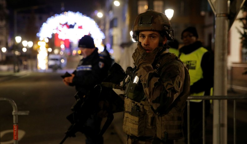 Gunman Opens Fire at French Christmas Market Killing One, Wounding At Least Ten