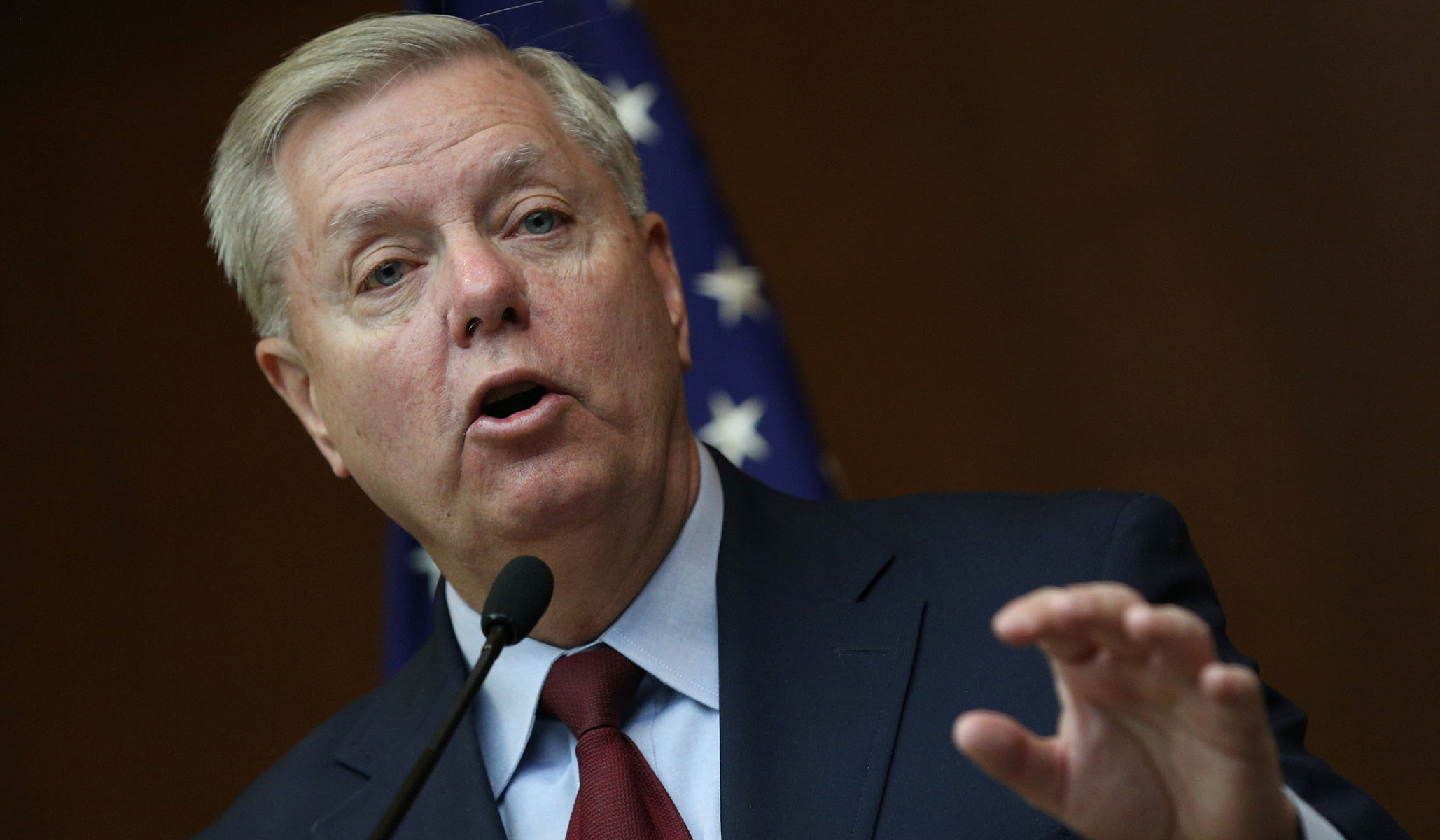 Graham on Syria: 'This Is a Complete and Utter National Security Disaster in the Making'