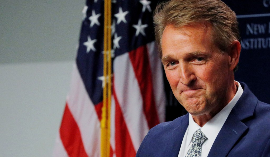 Biden Reportedly Considering Former Senator Jeff Flake for Cabinet Post
