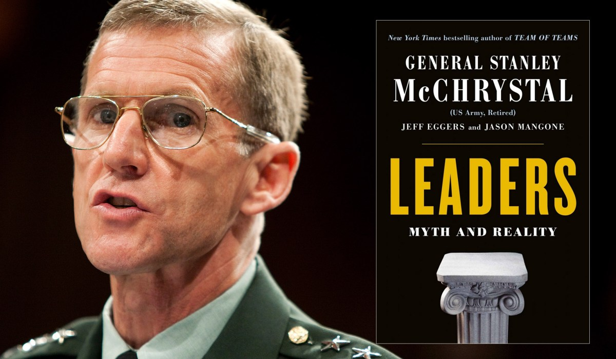 photo image Stanley McChrystal's Flawed Study of Leadership