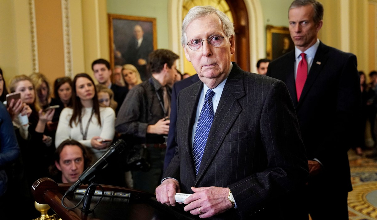 McConnell: Senate Will Vote on 'Green New Deal' So All Lawmakers Can 'Go on Record' | National Review