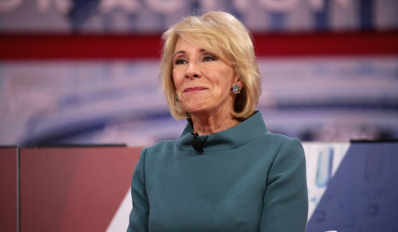 Betsy Devos Is Wrong About >> Betsy Devos Religious Freedom New Rule Ends Discrimination Against