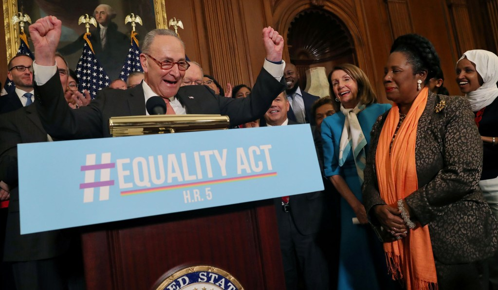 photo image House Dems Vote Unanimously to Pass 'Equality Act'