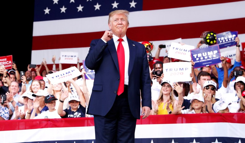 Smooth Sailing Ahead for Trump