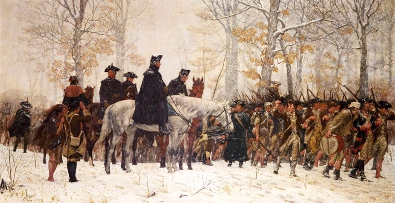 The American Revolution's Starving, Barefoot, Heroic Troops