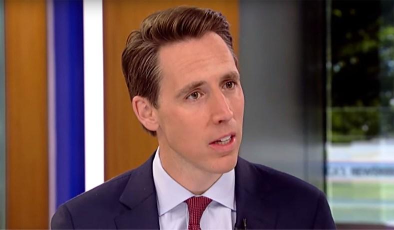 Senator Josh Hawley (R, Mo.) appears on Fox News (via YouTube)
