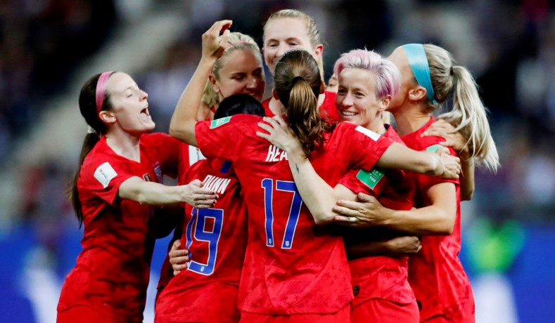 It's Wrong To Criticize The U.S. Women's Soccer Team For Celebrating