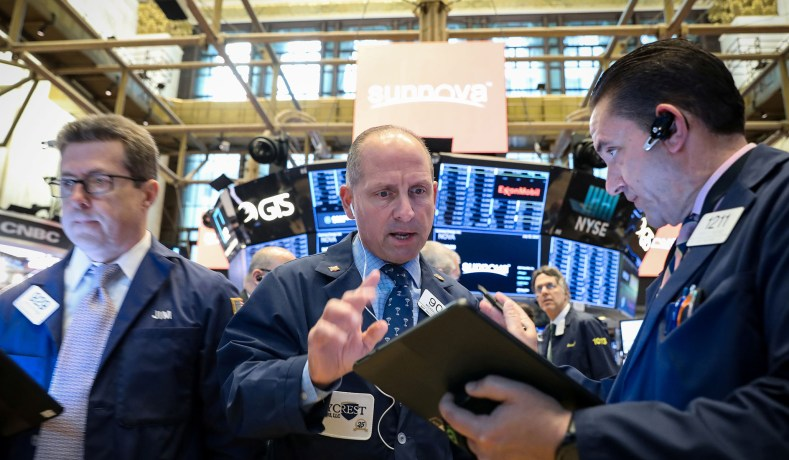 Stocks Drop as Recession Fears Grow, Trade Tensions Loom