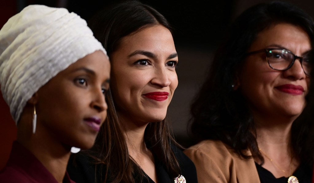 Ocasio-Cortez, Omar Join Event With Activist Who Said 'America Deserved 9/11' thumbnail