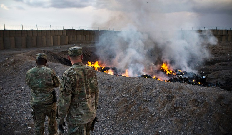 Open Burn Pits Made Tens of Thousands of Vets Sick, and the VA Isn't Working