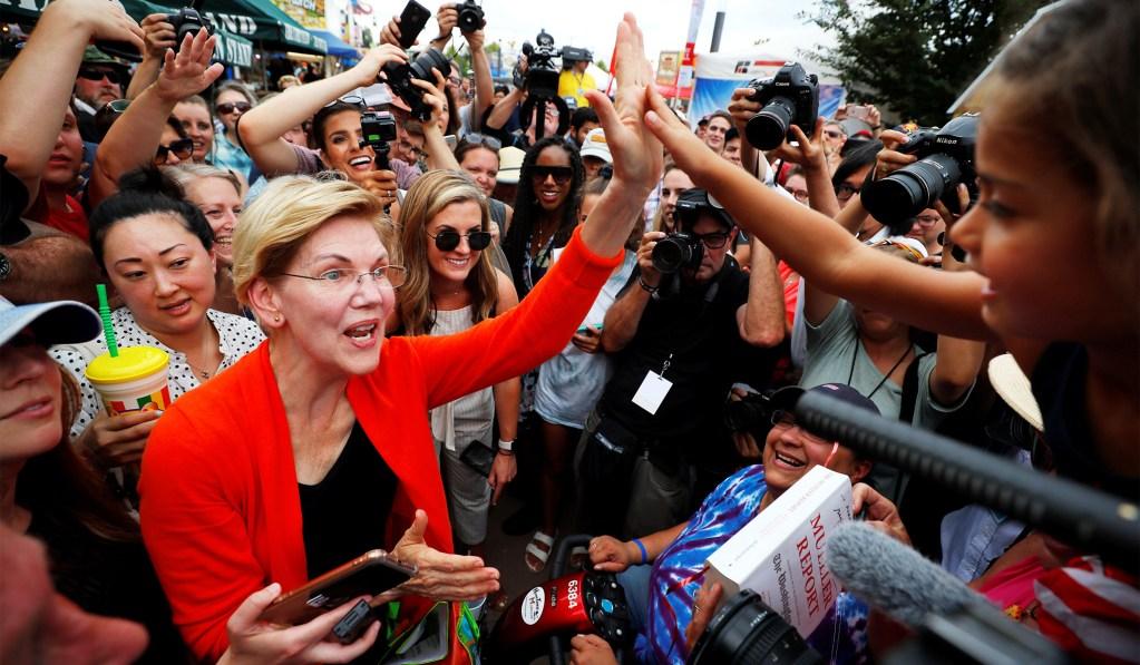 Warren Catches Up to Biden in New National Poll