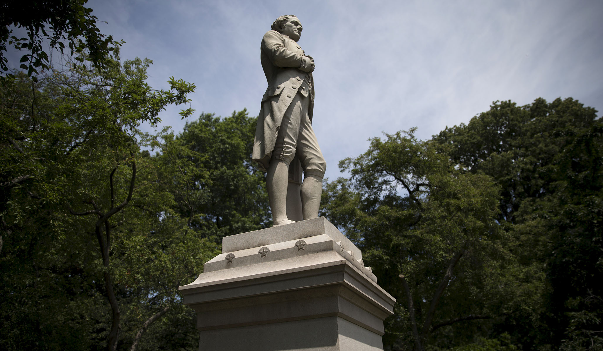 NYC Commissioner Wants to Remove Statues of Men. It's about Time.