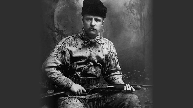Theodore Roosevelt on the Range