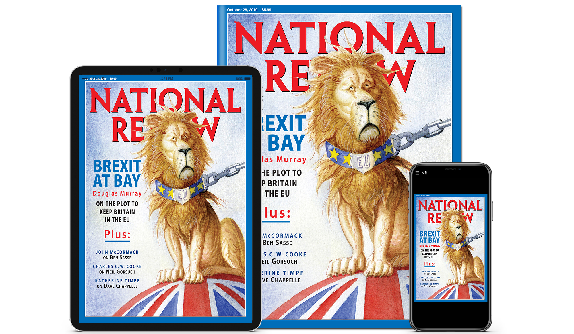 Inside the October 28, 2019, Issue of National Review
