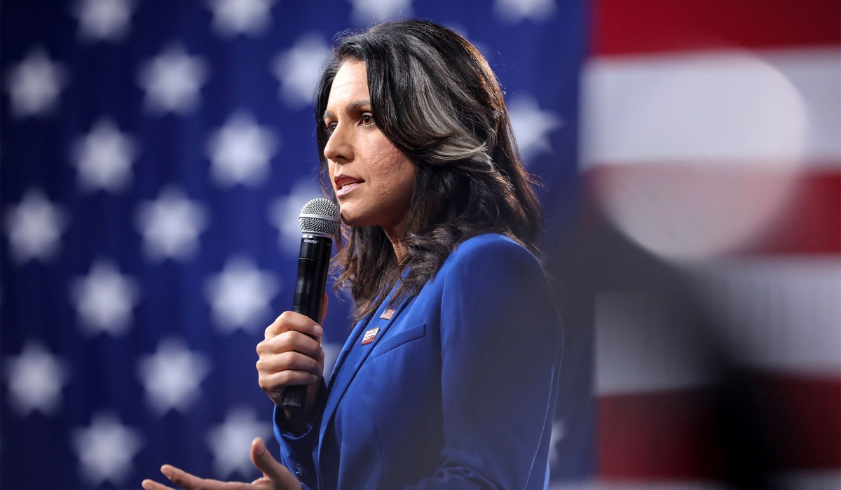 Tulsi Gabbard Calls for Chicago Mayor to Resign for 'Blatant Anti-White Racism'   National Review