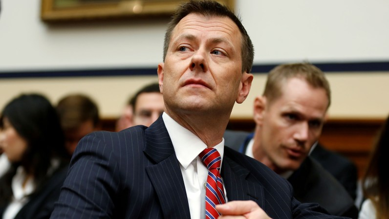 Ex-FBI Agent Strzok Acknowledged Steele Dossier Was 'Intended to Influence' Media thumbnail