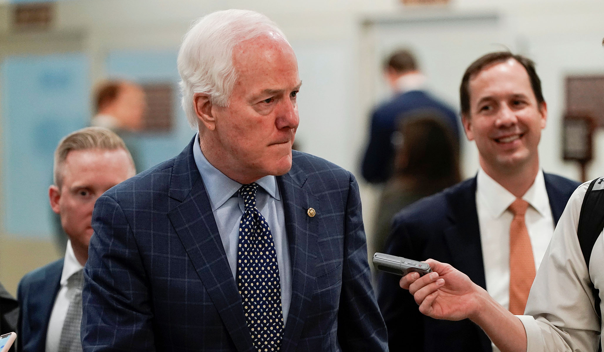 GOP Senator Says Republicans Don't Have the Votes to Immediately Halt Senate Impeachment Hearing