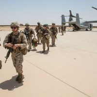 Iraqi Air Base Hosting U.S. Troops Targeted in Rocket Attacks