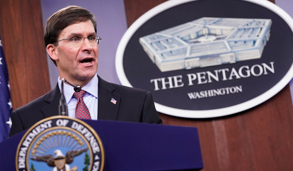 Trump Says Defense Secretary Mark Esper Has Been Fired
