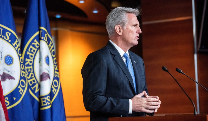McCarthy Rejects Calls to Oust Cheney from House Leadership thumbnail
