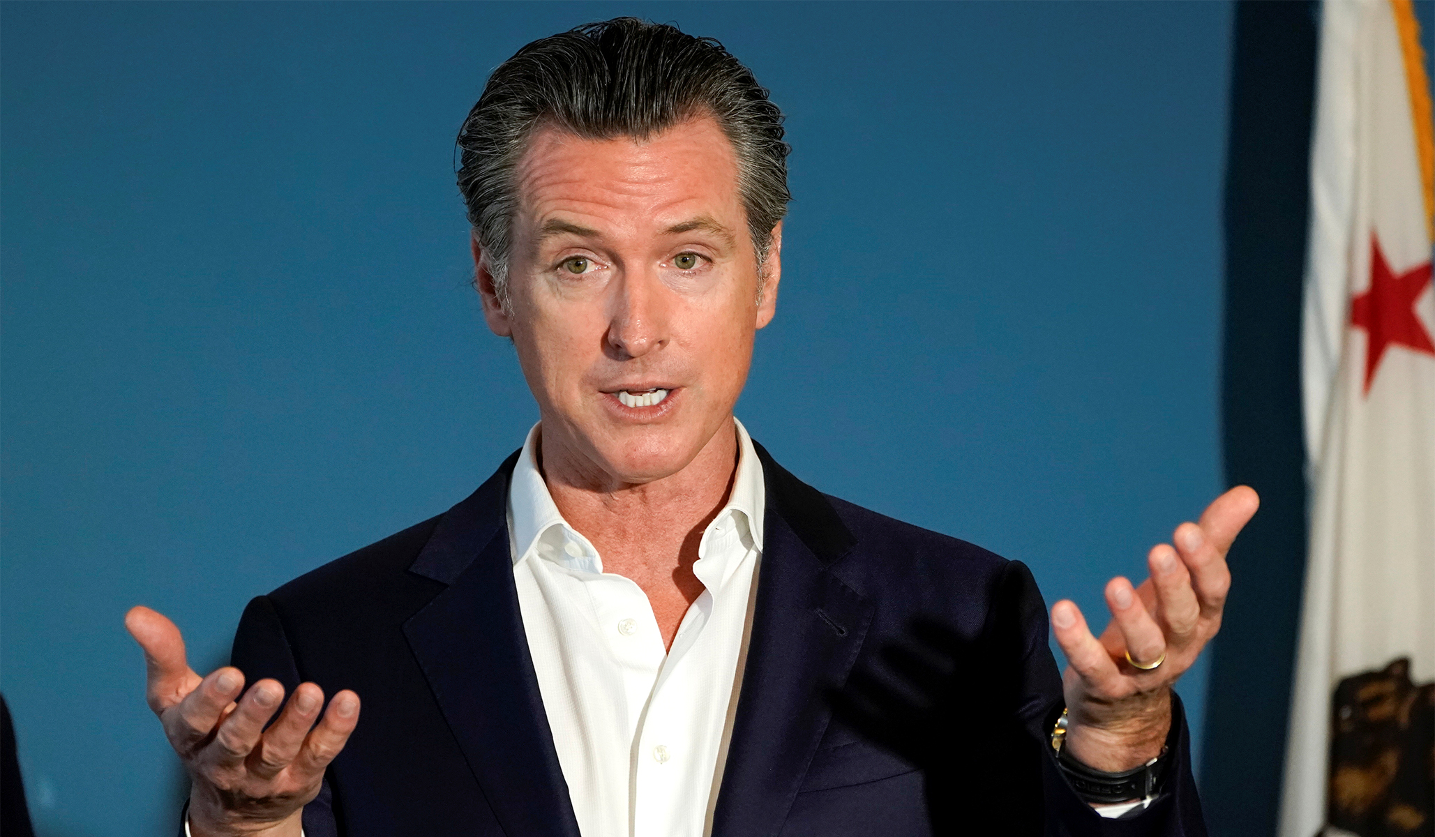California Governor Newsom Didn't Take Promised Pay Cut After Cutting State Workers' Pay thumbnail