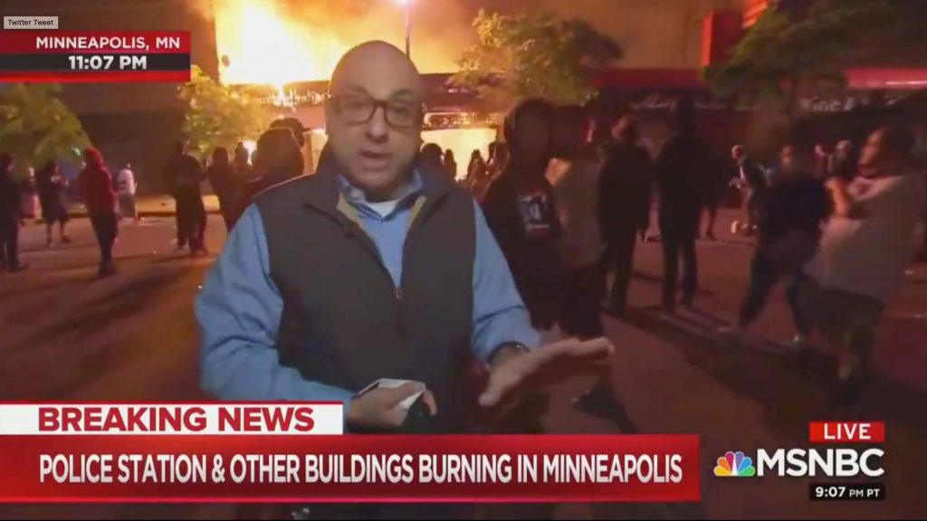 'You Can't Be Mad at Them': MSNBC Anchor Empathizes with Minneapolis Rioters on Hot Mic