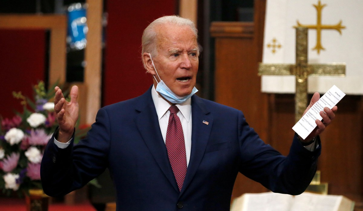 Will Joe Biden Put Down the Rosary Beads and Respond? | National Review