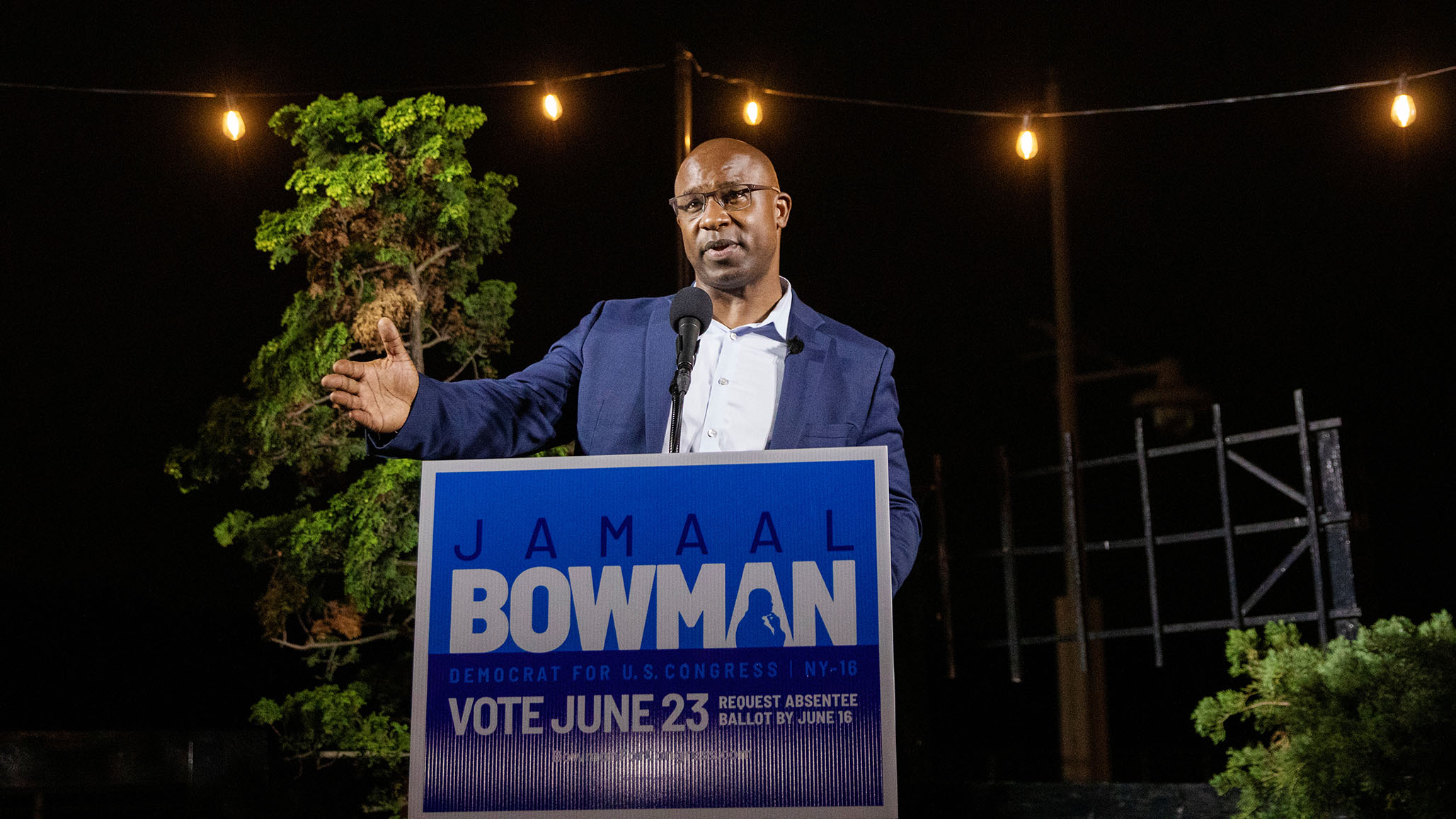 Progressive Jamaal Bowman on Track to Oust 16-Term Incumbent Eliot Engel in NY Primary thumbnail