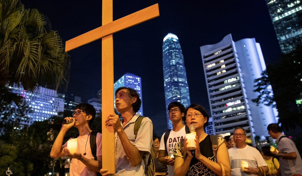 Photo of Christians in Hong Kong, under the Thumb of the Chinese Communist Party   National Review   National Review