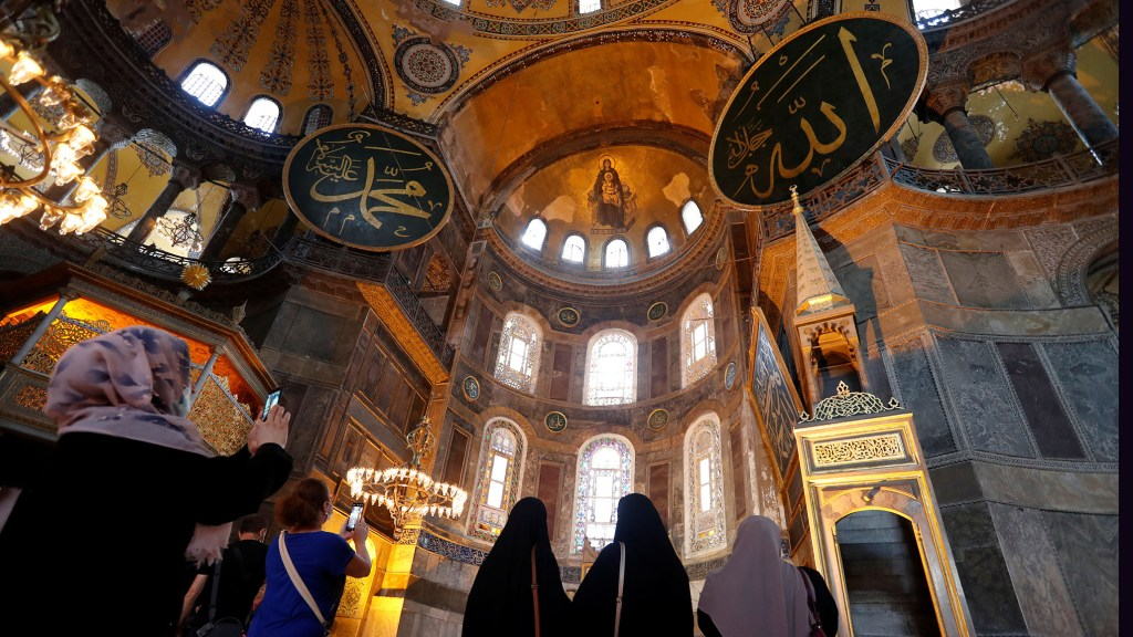 Erdogan Signs Order Allowing Hagia Sophia to Be Used as a Mosque