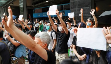 On Hong Kong, Stay Strong