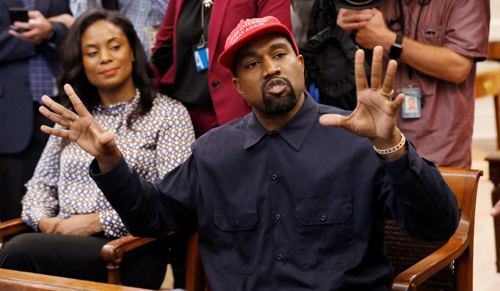 Kanye West Slams 'Not Special' Biden, Says He's Open to Running to Hurt Dem Share of Black Vote
