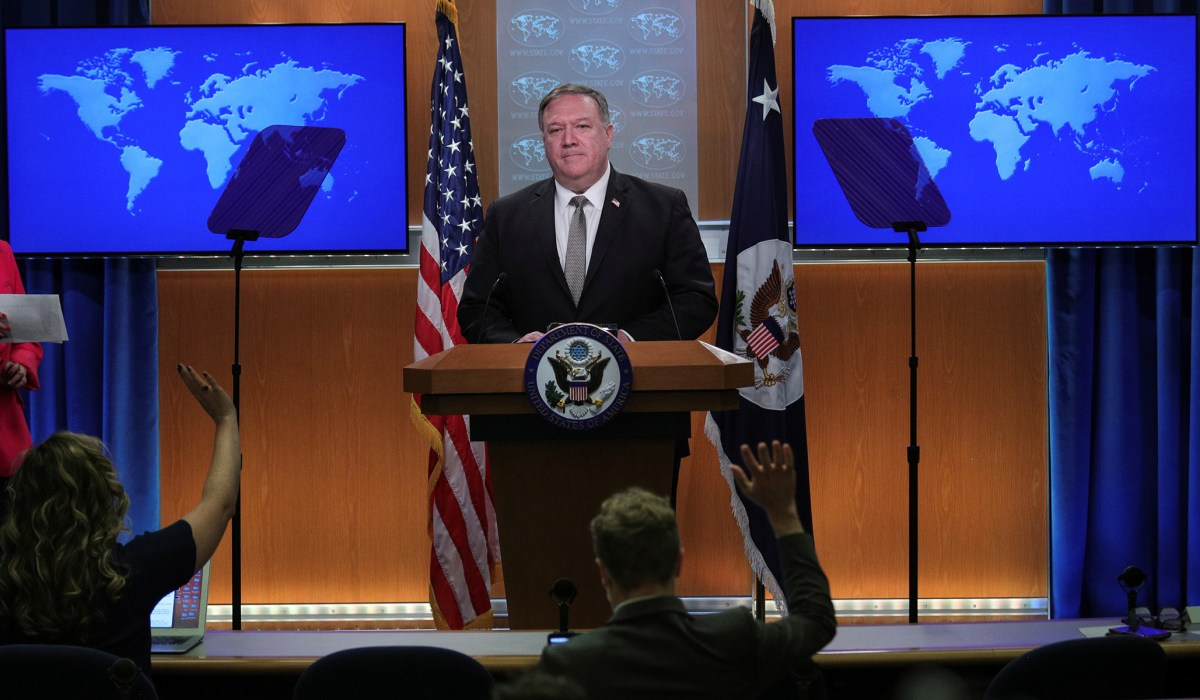 Pompeo Announces New Sanctions on Huawei Personnel
