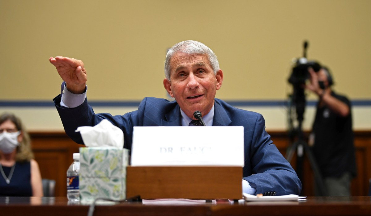 Fauci Says Second Shutdown Not Necessary to Beat...