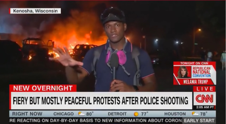 Only Some Kinds of Protest Are Always 'Mostly Peaceful' | National Review