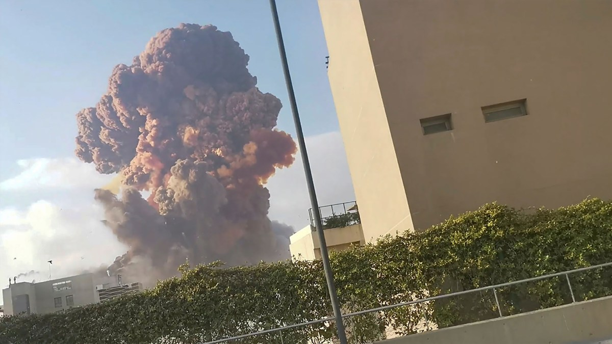 Massive Explosions Devastate Beiruit | National Review