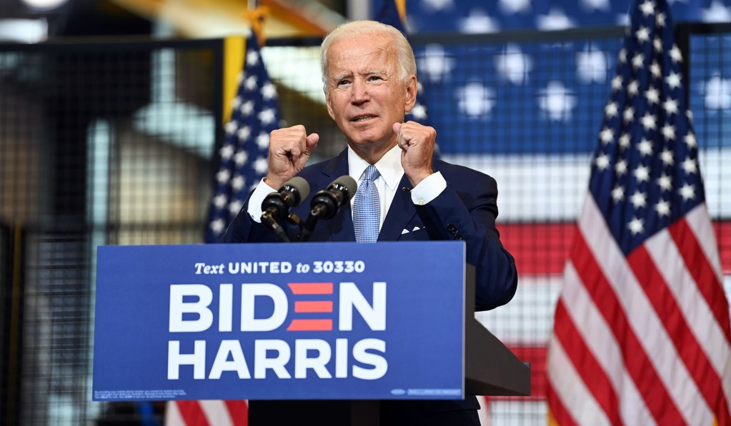 Biden Condemns Political Violence, Mocks Claim That He Would Be Soft on Rioters as President