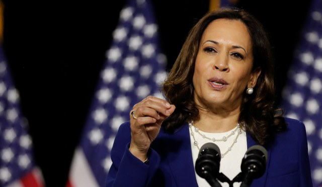 Kamala Harris Lies Repeatedly in First Press Conference as Biden's Running Mate   National Review
