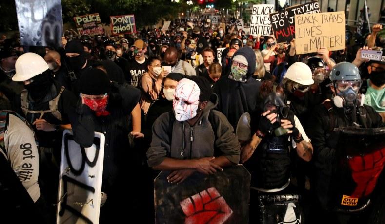 Extremism Experts Explain Antifa Organizing