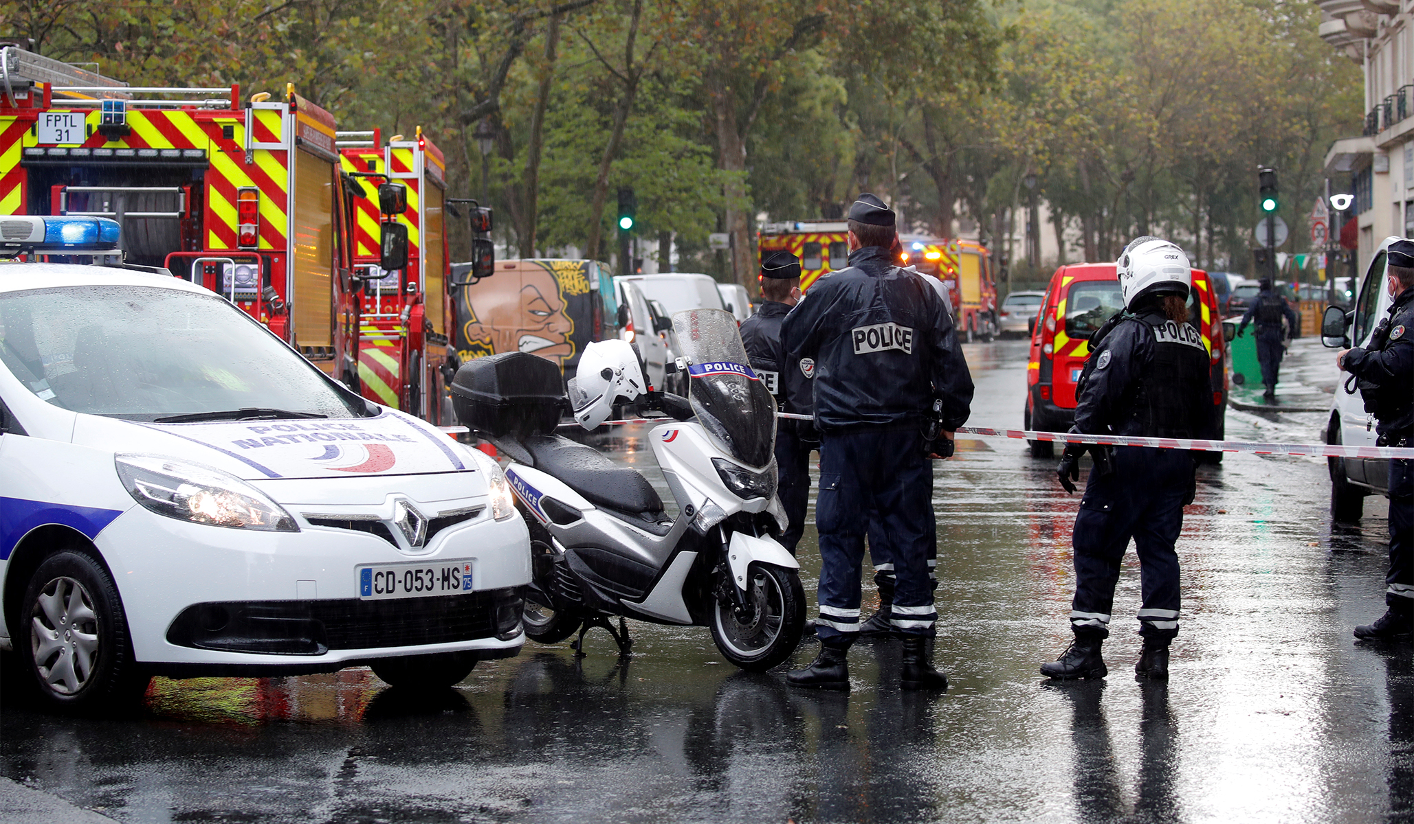 Two Stabbed in Knife Attack Near Former <I>Charlie Hebdo</i> Offices in Paris thumbnail