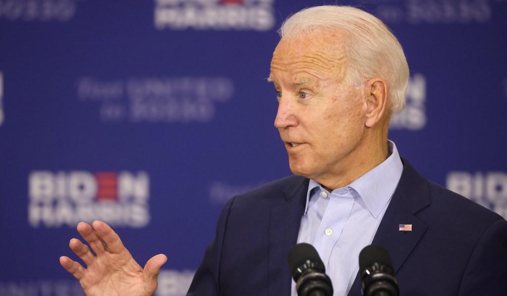 Biden Won't Answer Court-Packing Question