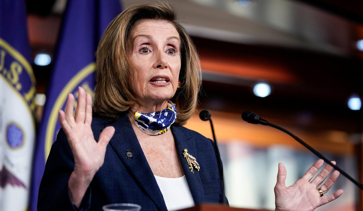 Lacking an Alternative, House Dems Tap Pelosi to...