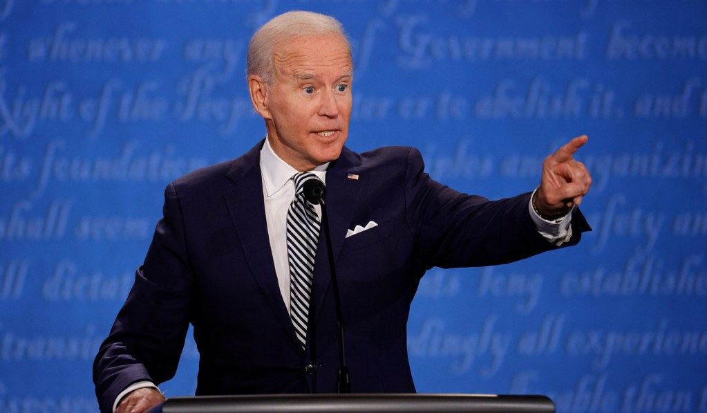 Biden Pushes Back on Trump's Claim That Far-Left Will Pull Him Toward 'Socialist Medicine': 'I Am The Democratic Party Right Now'