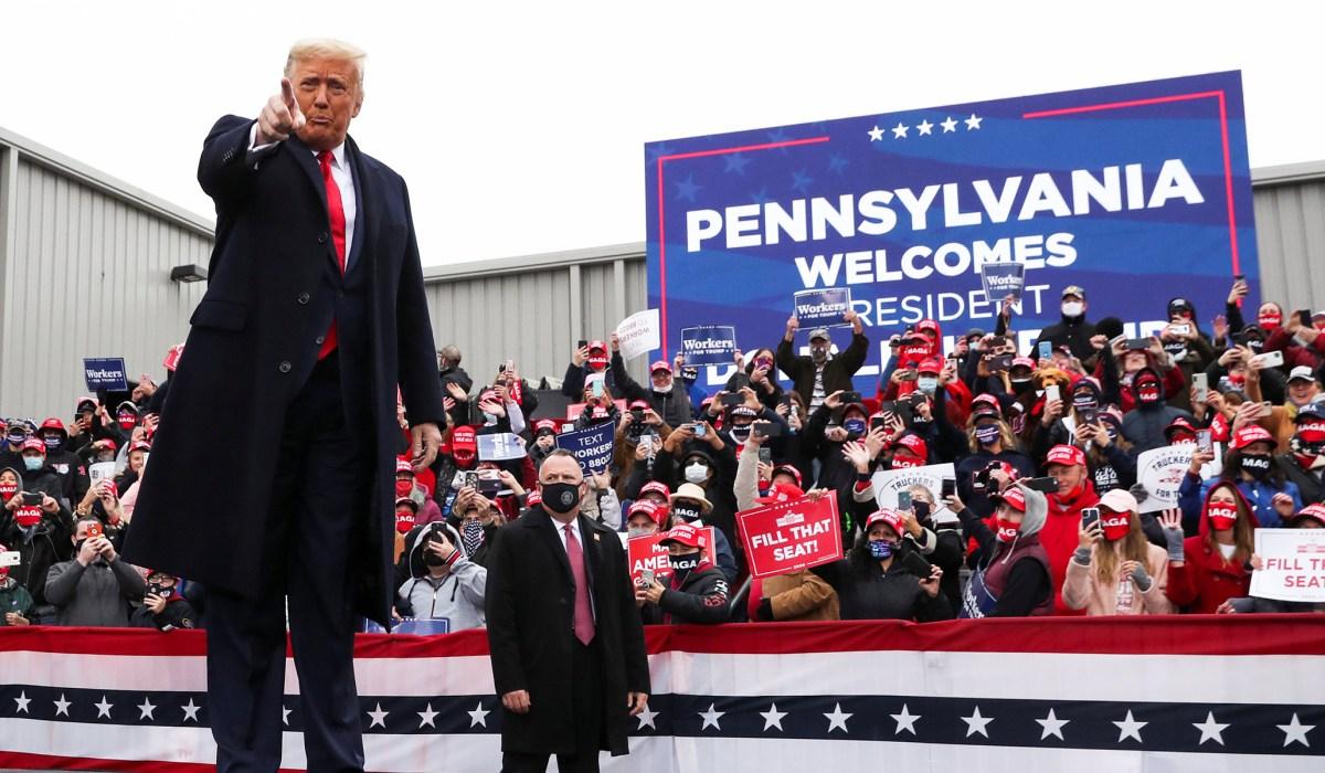 Pennsylvania Poll: Biden 49, Trump 44
