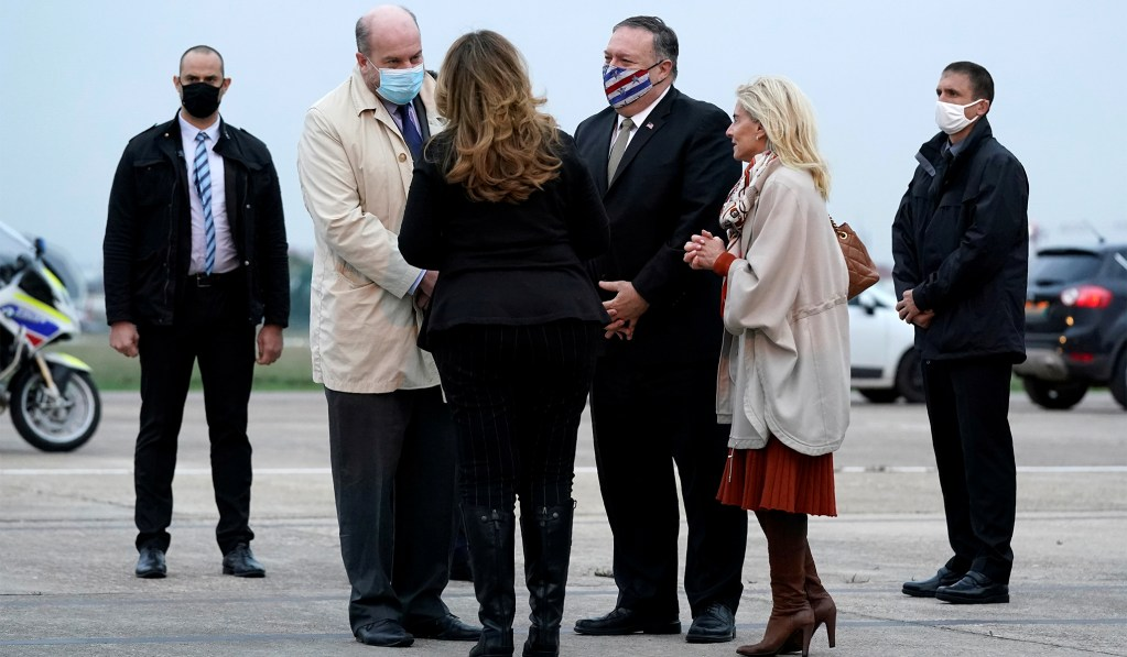 Pompeo Kicks Off Post-Election Foreign Trip, in Low-Key Style